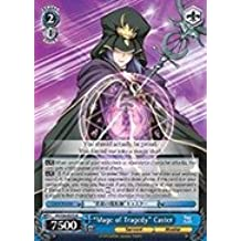Weiss Schwarz - Mage of Tragedy Caster - FS/S36-E075 - R (FS/S36-E075) - Fate Stay Night [Unlimited Blade Works] Vol 2 Booster