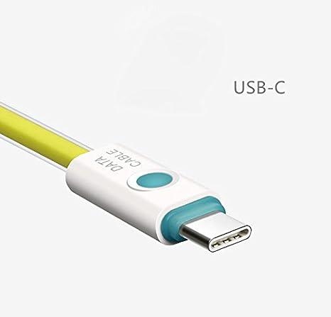 YANSHG® USB Tipo C a USB 2.0 Tipo A Cargador de carga LED ...