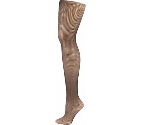Capezio Dance Women's Studio Basics Fishnet Tight,Black,US S/M