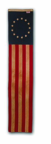 Valley Forge, American Flag Pull-Down, 8', 100% Made in USA, Sewn Stripes and Embroirdered Stars