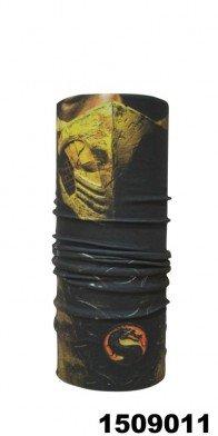 custom multiple face shield mask full print seamless tubular bandana balaclava headband (scorpion) ()