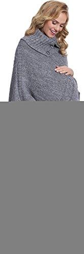 Be Mammy Suéter Premamá para Mujer Evita Melange/Gris