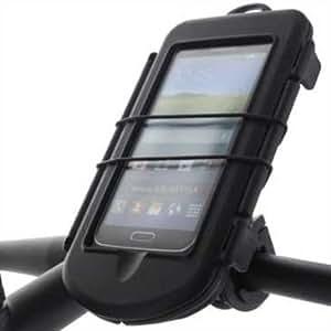 bicicleta motocicleta Waterproof Splashbox L + Bikemount 6 para drag link para equipment to 155 x87x13,7 mm