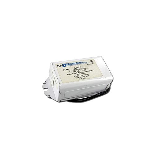 - Robertson S28CP - (1) Lamp Fluorescent Ballast - 28 Watt CFL - 120 Volt - Preheat Start - Normal Ballast Factor