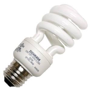 Sylvania 29781 - CF13EL/MINI/835/DAY/RP Twist Medium Screw Base Compact Fluorescent Light Bulb