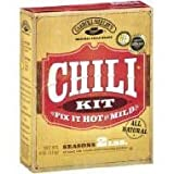 Carroll Shelby's Original Texas Chili Kit, 4 Oz (Pack of 3)