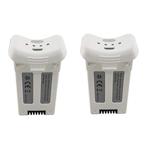 Faironly 2PCS 3.7V 1000mAh Lithium Battery for S20W T25 Four-axis Drone Spare Parts Remote Control Aircraft White