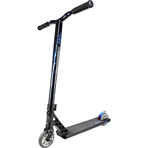 Grit Elite Pro Scooter - Best Intermediate/Expert Pro Scooter (Satin Black/Laser Blue)