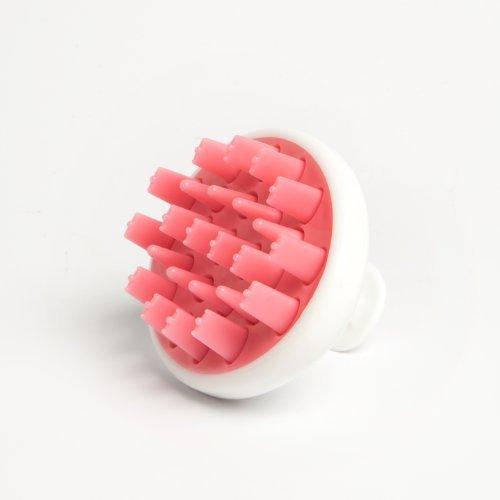 Zyllion ZMA12 Shampoo Scalp Massage Brush (Pink)
