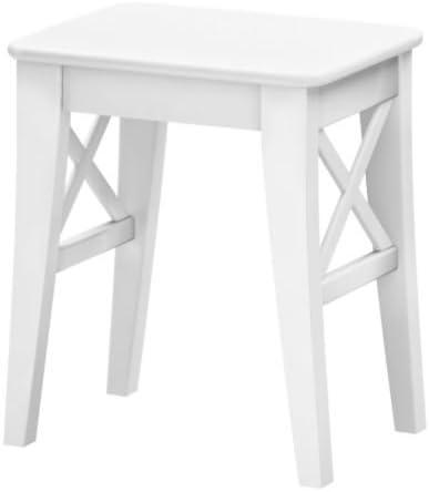 Amazon De Ikea Ingolf Hocker Weiss