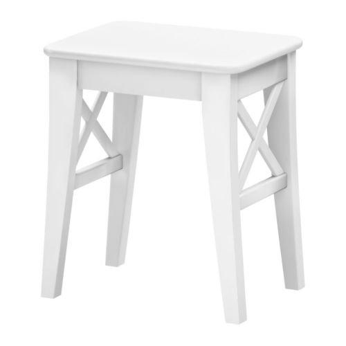 Ikea INGOLF–Taburete, Color Blanco