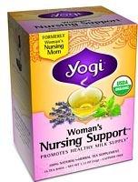 Womans Nursing Support (YOGI TEA,WOMANS NURSNG SUPPORT, 16 BAG, PACK OF 6)