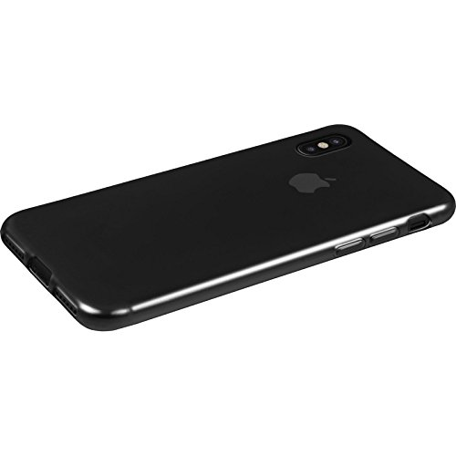 PhoneNatic Case für Apple iPhone X Hülle Silikon clear Slimcase Cover iPhone X Tasche Case