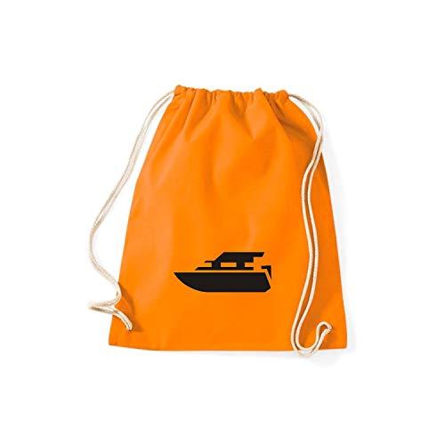 Mujer De Tela Naranja Algodón Para Shirtstown Bolso wPqSUBx8