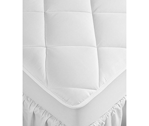 Hilton Hampton Inn Hotel Collection Queen 500T Cotton Mattress Pad With 1  Gusset   0035259   60  X 80  X 15     Classic Pluss By Envirosleep