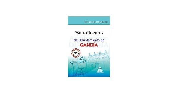 Subalternos Del Ayuntamiento De Gandía. Test Y Supuestos ...