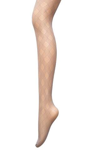 PreSox Fishnet Tights Seamless Nylon Mesh Stockings Control Top Sheer Pantyhose for Women Girls, One Size, Gray ()
