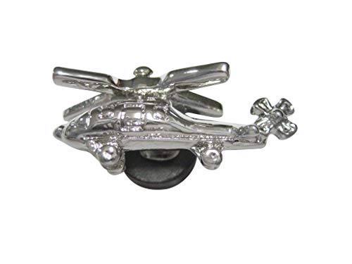 Kiola Designs Silver Toned Helicopter Magnet
