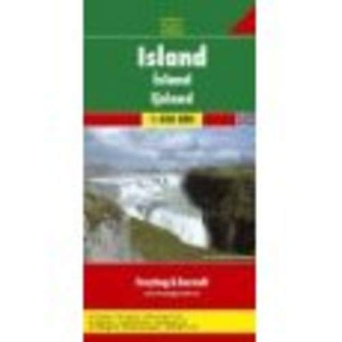 (Iceland Road Map (Country Road & Touring) (Italian, German, English and French Edition))