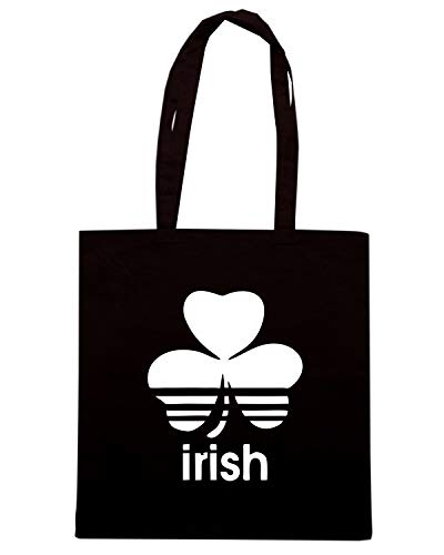 Speed Shirt Borsa Shopper Nera TIR0216 VINTAGE IRISH