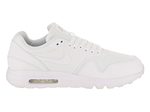 Nike Herren Air Max 1 Ultra 2.0 Essential Laufschuhe Bianco (White/White/Pure Platinum)
