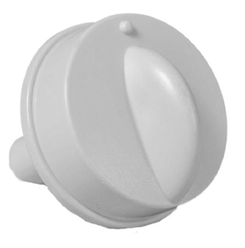 LG Electronics 4941AR7134E Air Conditioner Replacement Control Knob, White
