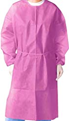 (Pack of 10) Isolation Gown with Elastic...