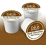 Green Mountain Cafe Escapes Dark Chocolate Hot Cocoa K-Cup (96 count)