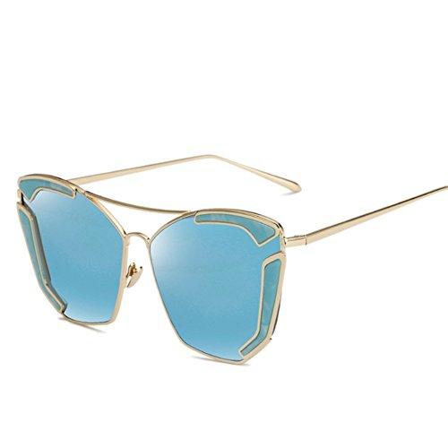SG10906C5 PC Lens Fashion Metal Frames Sunglasses