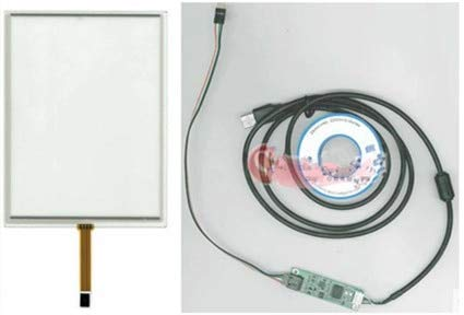 Lcd 10.4 Tft Panel - Muccus 10.4 inch TFT LCD Touch Panel 4-Wire Resistive Touch Screen + USB Controller