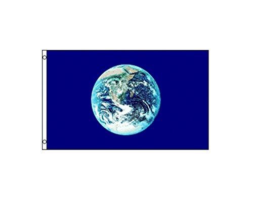 TrendyLuz Flags Earth Environment Planet 3x5 Feet Flag