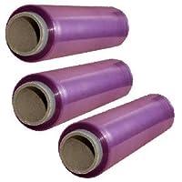 Rollos film alimentación transparente 30x300 - Pack 3