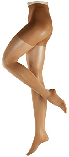- Falke Womens Energize Leg 50 Denier Semi Opaque Matte Tights - Powder Tan - Large