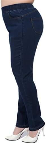 Big Girls Plus-size High Waisted Jean Pants