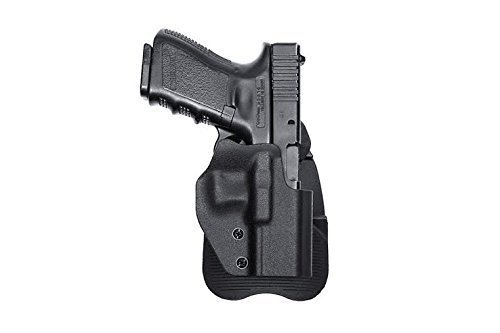 Ultimate Arms Gear Tactical Glock 17/19/22/23/25/26/27/28/31/32 Handgun Right Handed Open Top Quick Draw Side Concealment Paddle Holster