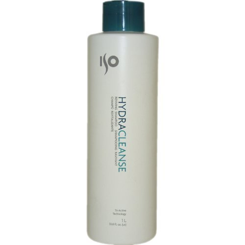 ISO Hydra Cleanse Reviving Shampoo for Unisex, 33.8 Ounce ()