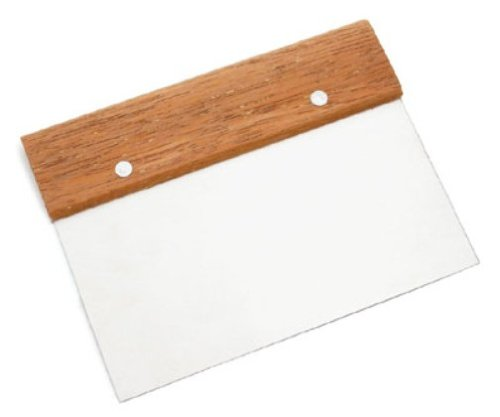 Ateco Bench Scraper / Dough Cutter - wood handle Home ...