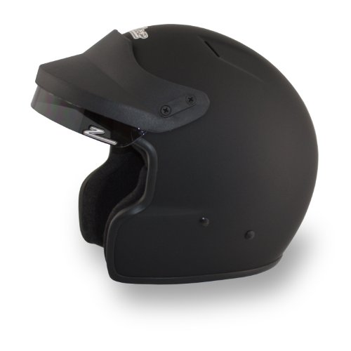 Zamp JA-2 SA10 Open Face Helmet (Matte Black, XX-Large)