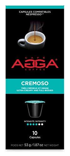 Café Agga Coffee 60 CAPSULES Cremoso ESPRESSO Nespresso ORIGINALINE Compatible