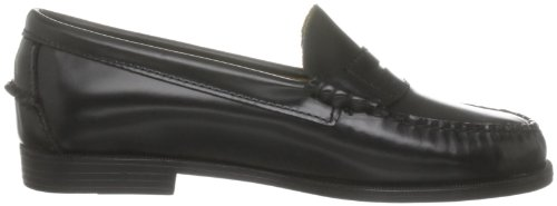 Sebago Schwarz Black Slipper Damen Plaza Oq708