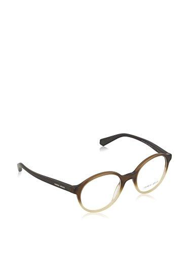 Giorgio Armani Montures de lunettes 7095 Pour Homme Black, 47mm 5444: Matte Brown Gradient