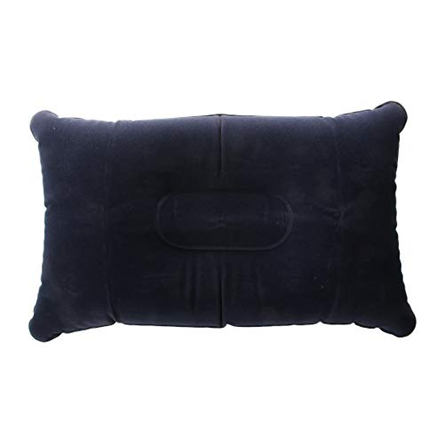 Pillow Pillow - Inflatable Pillow Double Face Cushion Mat Navy Blue 40 25cm - Inserts Sofa Laptop Insert Decorative 16x16 Case Outdoor Bench Laying Watch Cover Pillow Insoles Tailbone Gift ()