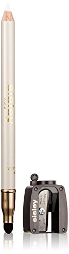 Sisley Phyto Khol Perfect Eyeliner with Blender and Sharpener for Women, 7 Snow, 0.05 Ounce ()