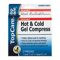 Top Care Hot & Cold Gel Compress (Case of 3) by Top Care