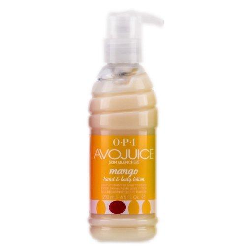 Opi Avojuice Hand Lotion, Mango, 8.5 Fluid Ounce AV 838