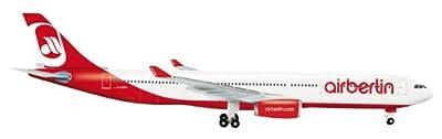 Daron Herpa Air Berlin A330-300 Diecast Aircraft, 1:500 Scale