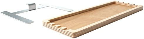 Recommended for use with U.Go Pochade box #00701 New Wave U.Go Plein Air Anywhere Model Side Tray 00707 Measures 4 x 11 x .5 inches