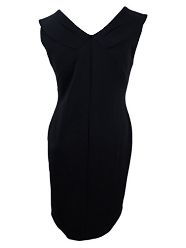 Calvin Klein Des Femmes De Plus De Robe Extensible Sous-marine Sans Manches Noir