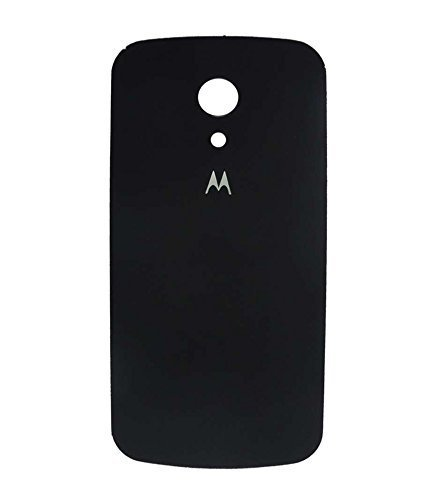 new products f678b 75e5d Red Qube Back Replacement Cover for Moto G 2nd Generation (Black)