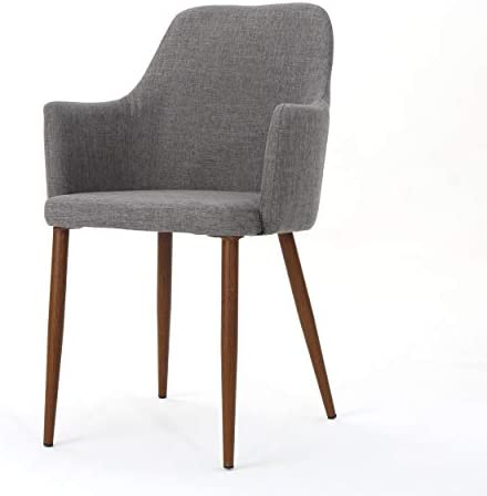 Christopher Knight Home Zeila Mid-Century Modern Fabric Dining Chair